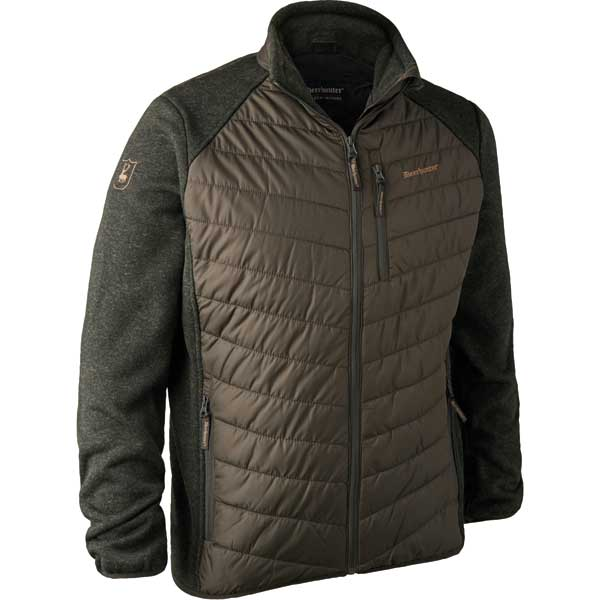 Deerhunter Moor Wattierte Jacke mit Strick Timber