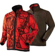 Härkila Kalmar Fleecejacke Mossy Oak® Red/Shadow brown