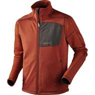 Härkila Svarin Fleecejacke Burnt orange