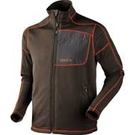 Härkila Svarin Fleecejacke Shadow brown