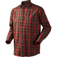 Seeland Pilton Hemd Spicy red check
