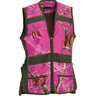 Pinewood Jagdweste Ladies Realtree AP Hot Pink HD®/Moosgrün