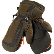 Härkila Expedition Handschuhe Hunting green/Shadow brown