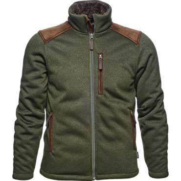 Seeland Dyna Fleecejacke Forest green