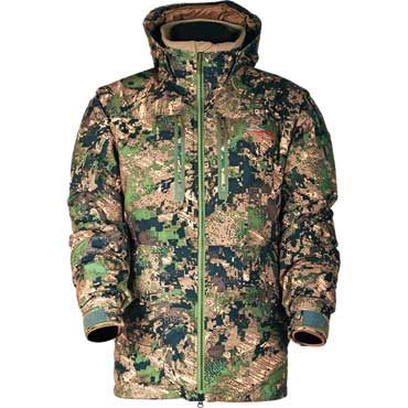 SITKA Blizzard Parka Optifade Ground Forest