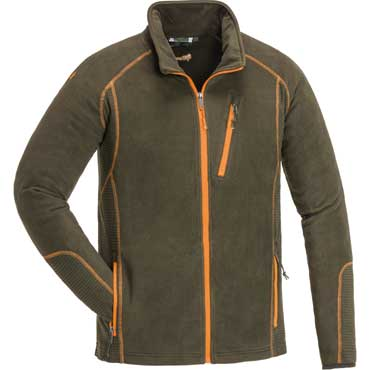PINEWOOD Micco Fleece Jacke Darkoliv
