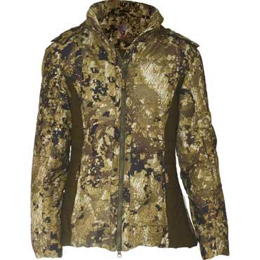 wholesale dealer 862f0 5dfd1 HUBERTUS Ladies Fashion Pixel-Camo-Jacke oliv/braun