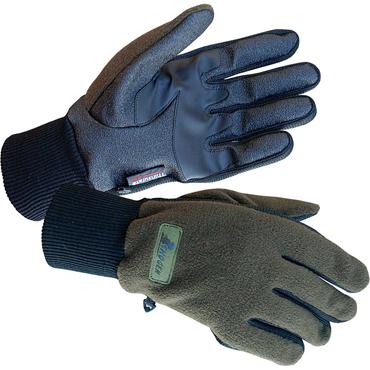 warme Fleece Jagdhandschuhe  Handschuhe von Skogen oliv