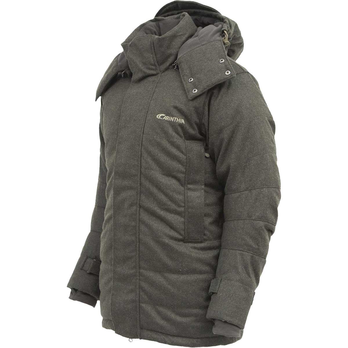 cheap for discount 59f95 27010 CARINTHIA Daunen Loden-Parka oliv